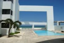Beach Front, Furnished Three-bedroom Condo